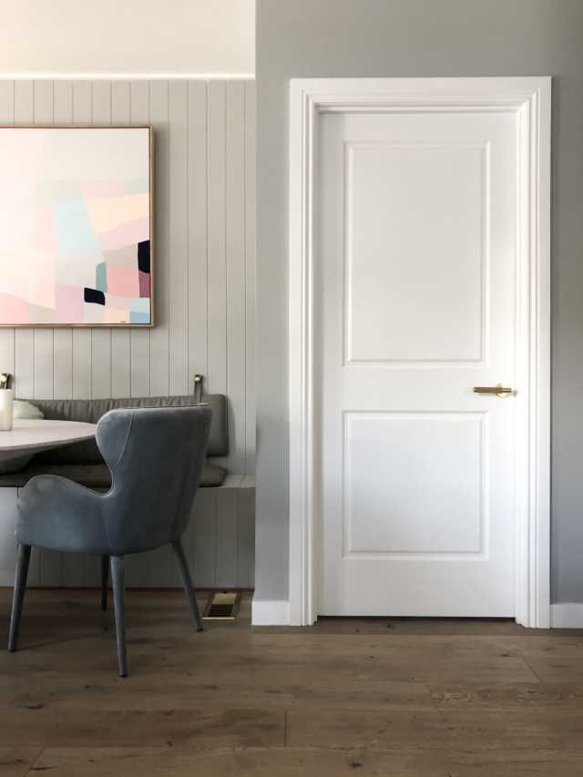 Scandinavian Style Doors Integral Say Norsu Interiors