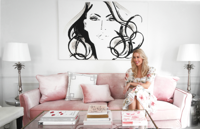 Kerrie Hess in her home office