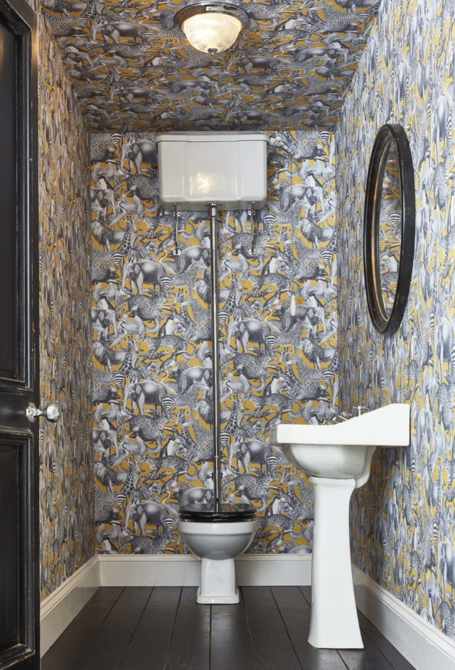 While we've established that almost any wallpaper is suitable for a bathroom, provided there is sufficient ventilation, is there a specific way that it ...