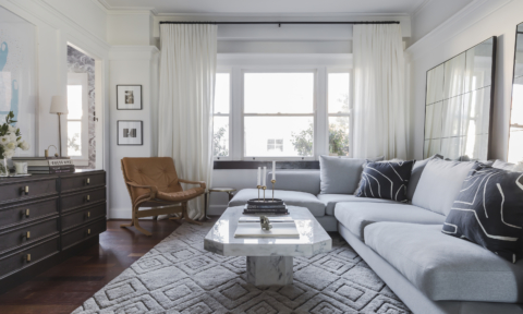 Real home: Former fashion editor's chic Manly apartment