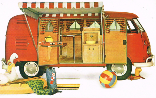 Original Westfalia 'Camping Box' illustration