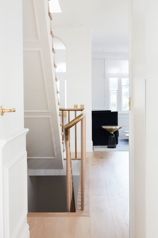 Intrim Mouldings feature under the staircase too