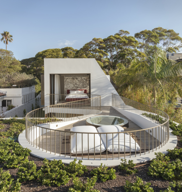 Crescent House by Matthew Woodward. Photography: Murray Frederic