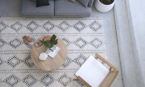Customisable, ethical, textured rugs from Amigos de Hoy