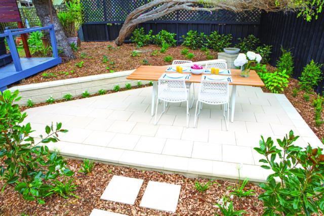 Hampton's inspired garden