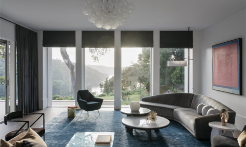 'Best Residential Interior' finalist Dylan Farrell Design's 'Sydney Contemporary Perch' project