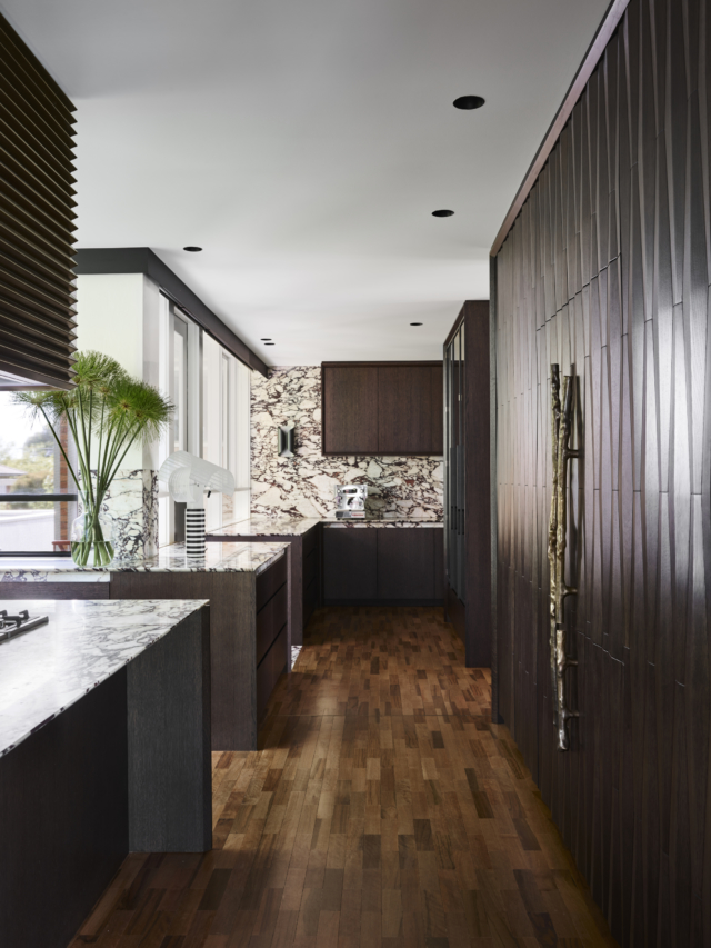 'Best Residential Kitchen Design' finalist Flack Studio's Caulfield North residence