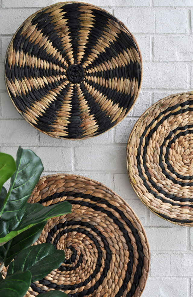 AFTER The wall baskets are from Early Settler