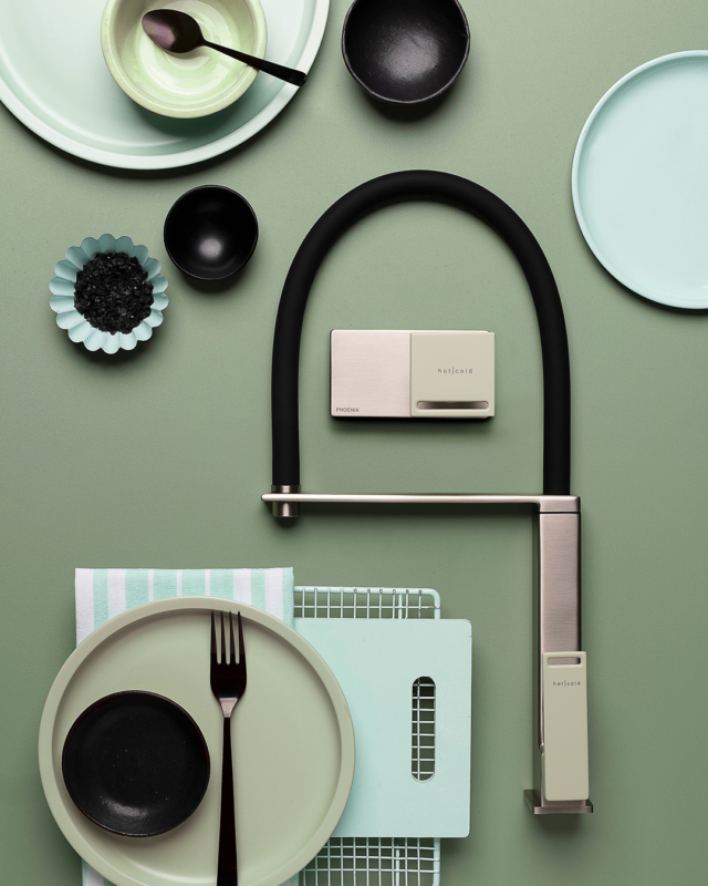The Zimi sage green range