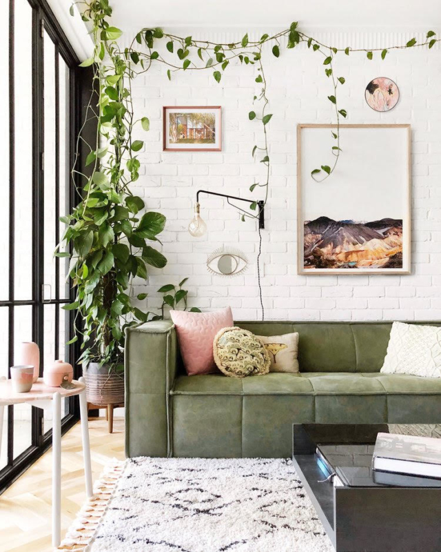 Jono's glorious apartment. Photo by Jono Fleming