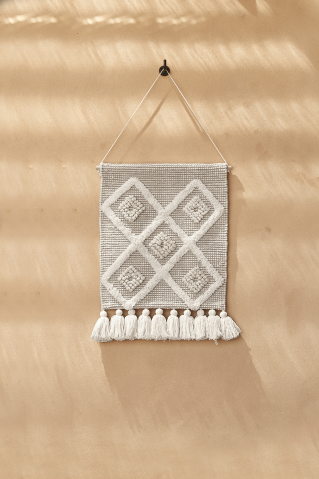 Paloma tufted wall hanging