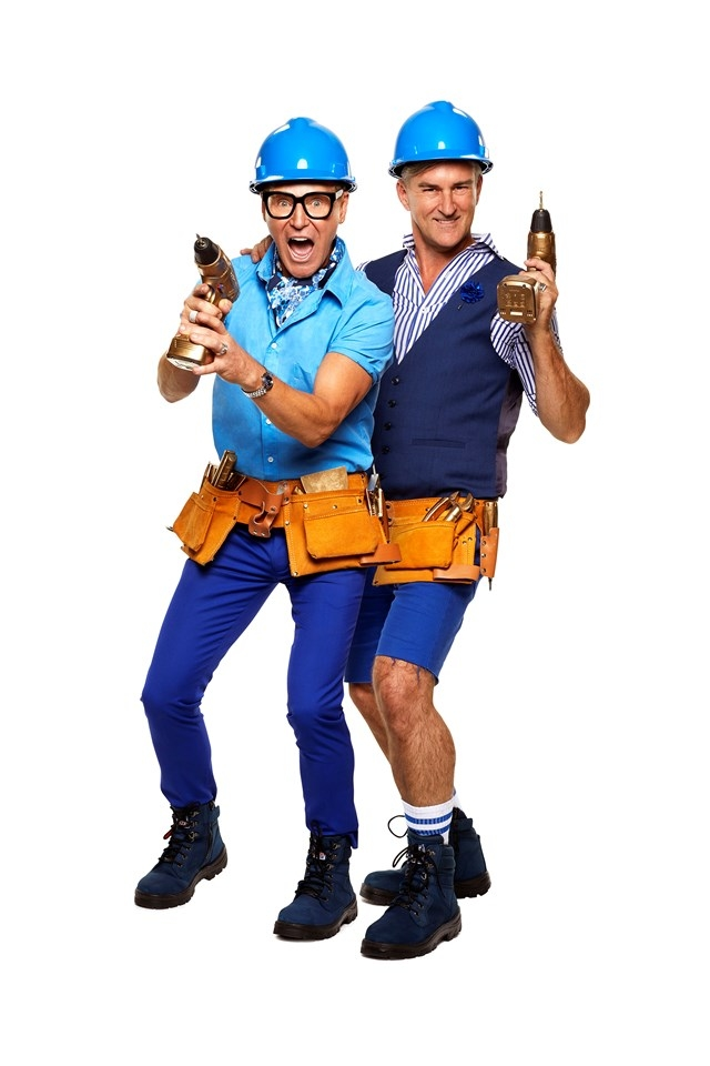 NSW contestants Mitch and Mark