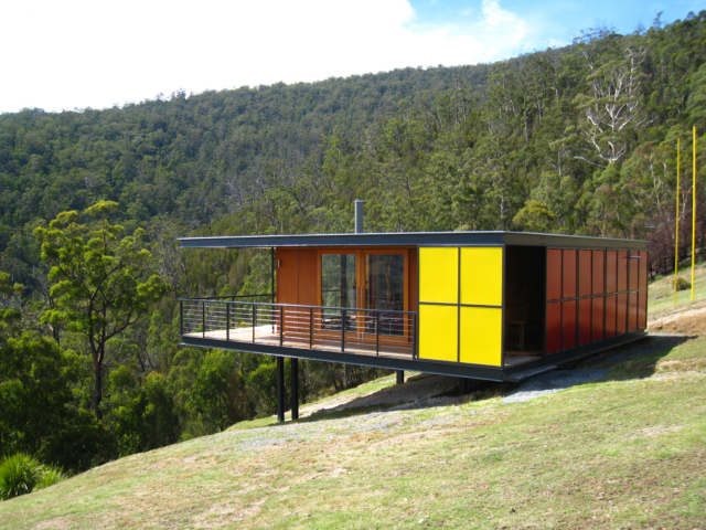 Immersed in nature, this home really captures the spirit of Mid-Century Modernism