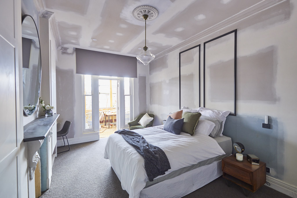 the block 2019  week 1 guest bedroom reveals