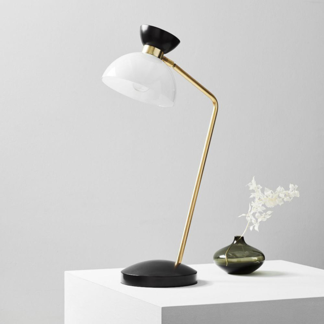Hourglass task table lamp west elm