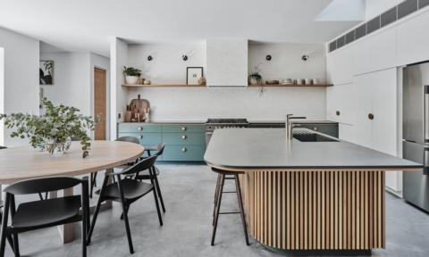 Green scheme: holiday home a lesson in luxe