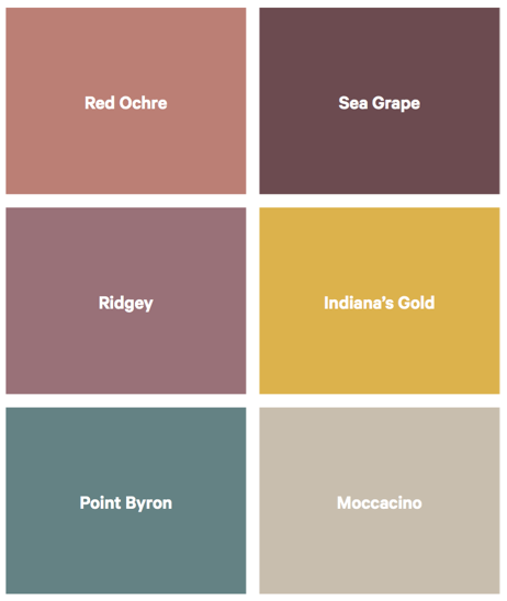 The 'Natural Connection' palette