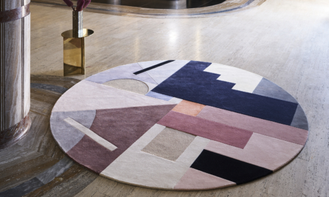 The 'Delaunay' rug