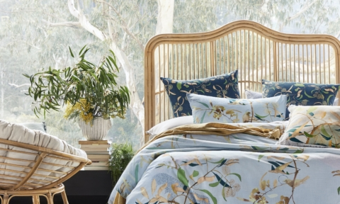 Adairs' new Australiana collection collab with artist