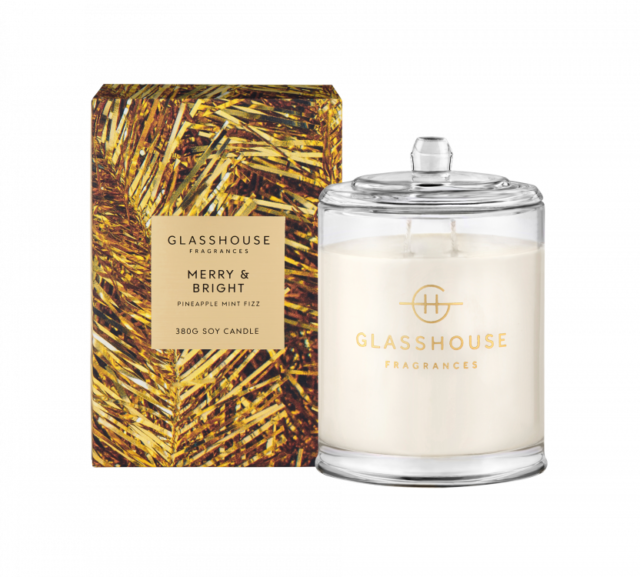 Glasshouse Christmas candle