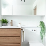 plumbing tips for small bathroom compact toilet and vanity