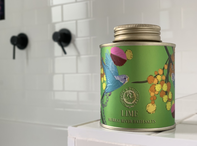 Murphy & Daughters lime bath salts