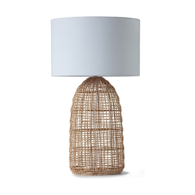 Kmart rattan table lamp