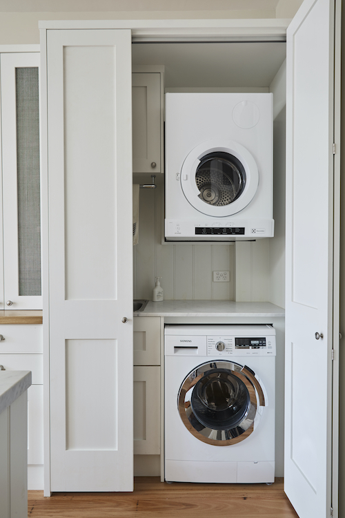 Laundry Ideas How To Hide One In The