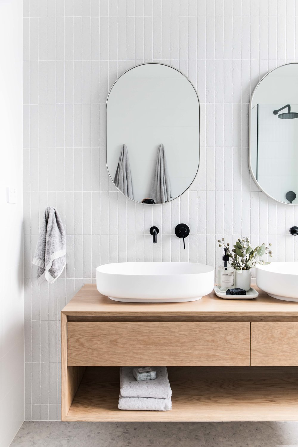 This bathroom was created by Catherine Heraghty of The Stables