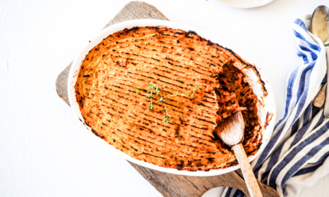Foodie Friday: Meat-free Lentil Shepherd's Pie