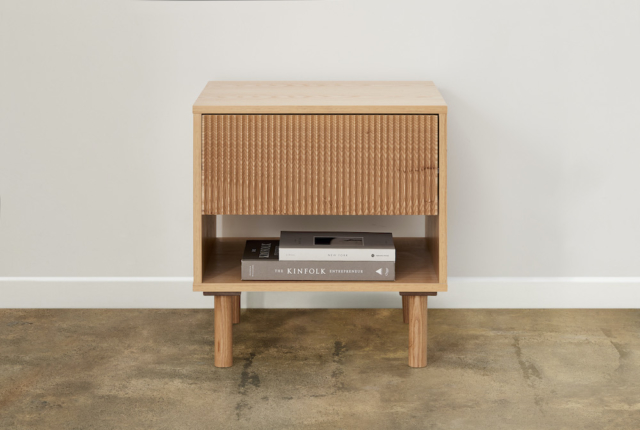 This gorgeous Akira side table is a steal at $79!