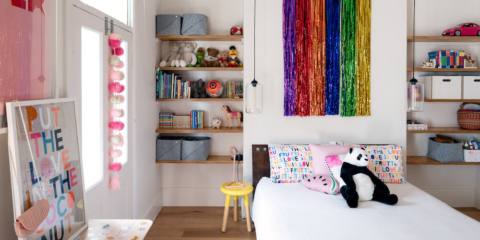 Noa's room is my favourite space in the home. So much joy!