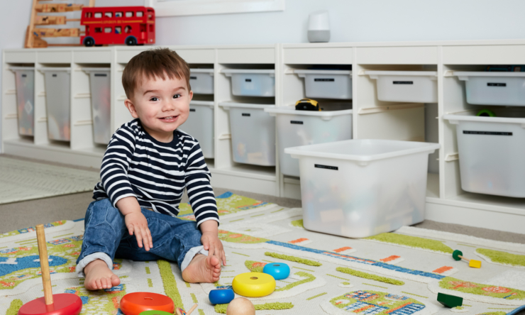 Playroom storage ideas: what we used in ours and why