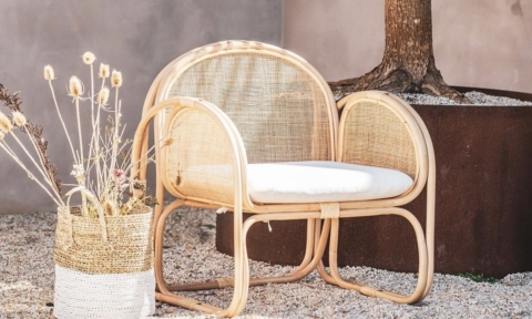 OZ Design Furniture rattan chair