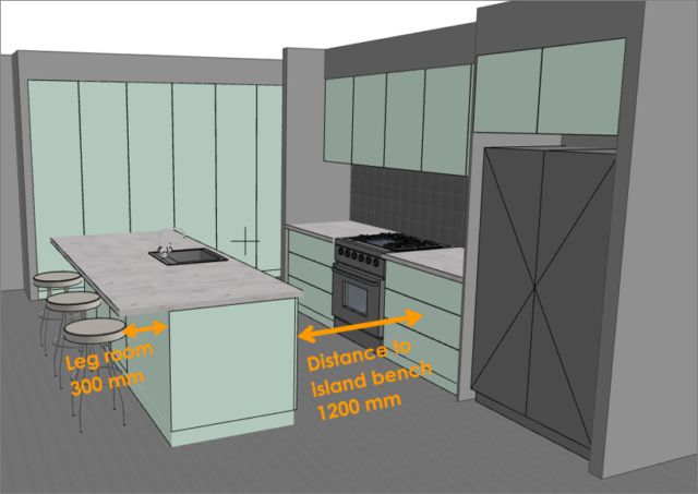 Australian Kitchen Dimensions Standard Sizes For Every Last Detail The Interiors Addict