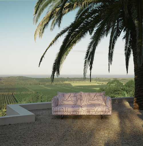 This King Living Zaza outdoor sofa would look just as at home indoors