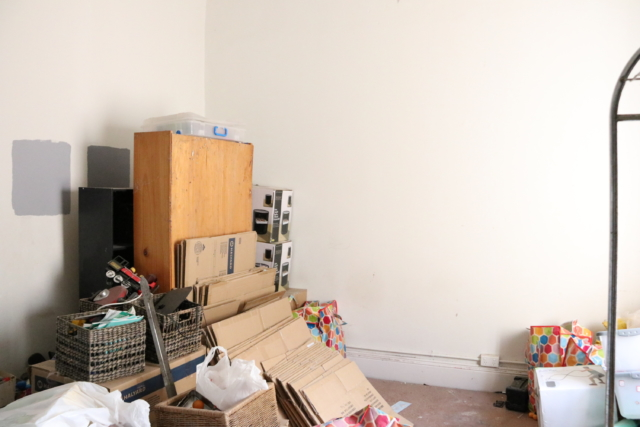 The room before