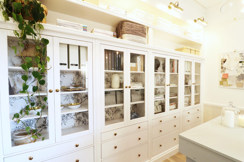 Ikea Hacks Australia Diy Built In Hemnes Cabinetry How To The Interiors Addict