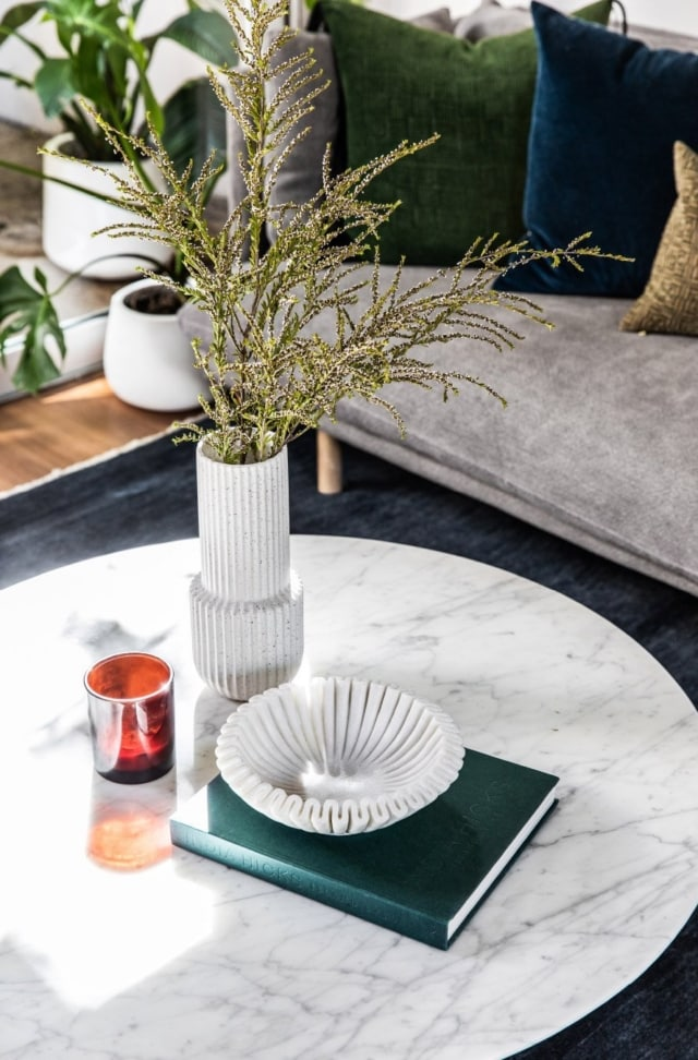 Gorgeous coffee table details