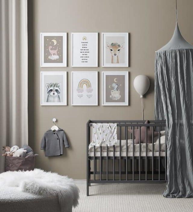 'Lovely Sleep' gallery wall, $174.70