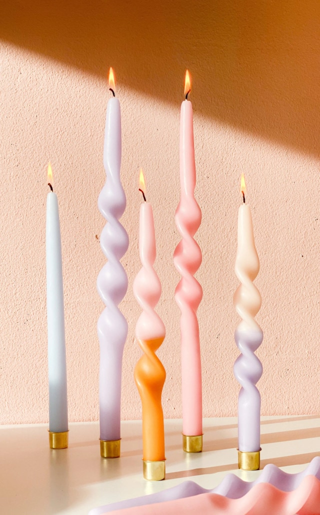 Twist duo candles