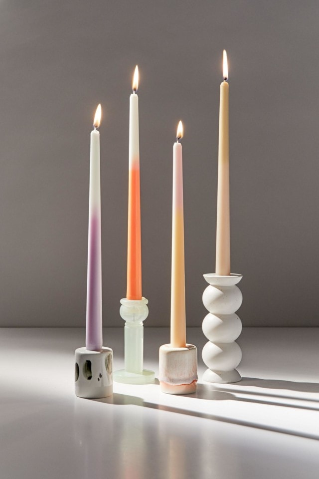 Urbar outfitters ombre candle set