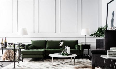 Contents ID's Mia modular sofa