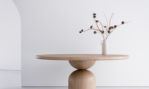 Woodroom Bell table