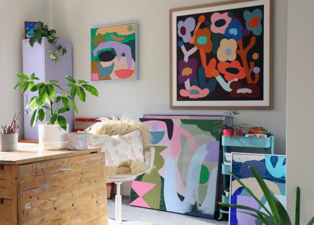 Xander's studio