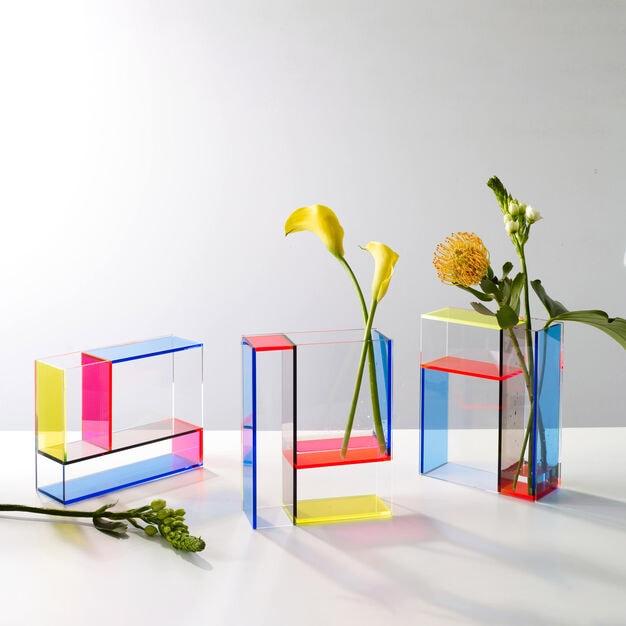 MOMA Mondrian vase