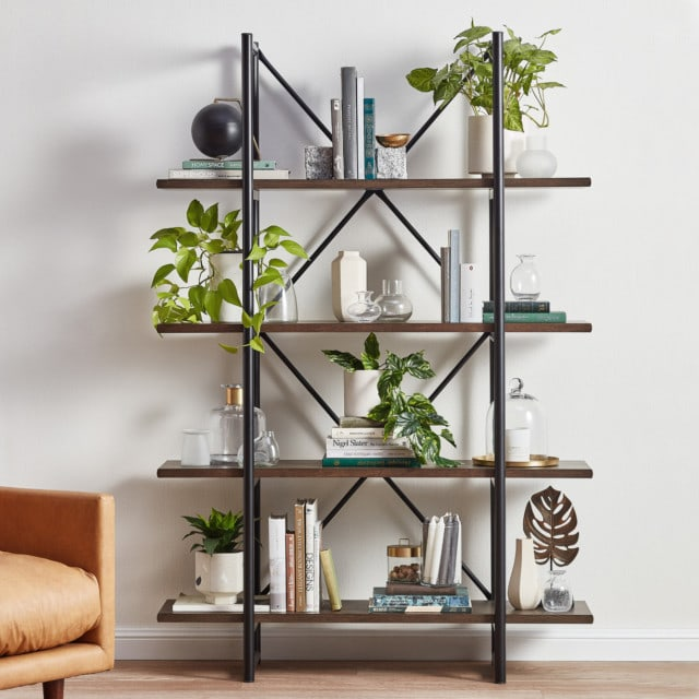 Temple and Webster industrial shelving unit