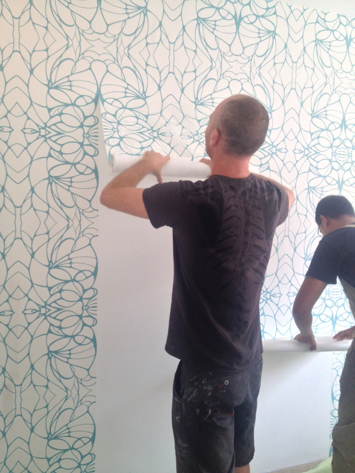 Removable (non-vinyl) wallpaper for renters: proof it exists! - The ...